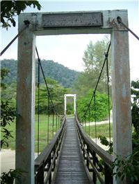 Meromictic Lake - Entrance